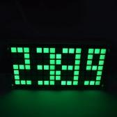 Réglable Luminosité Dot Matrix Température date Horloge Key Control Horloge LED DIY numérique Kit DS3231 haute précision tactile Affichage de l
