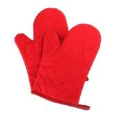 Piekarniki Rękawice antypoślizgowe Kuchnia Piekarniki Rękawice Odporne na ciepło Rękawice do gotowania Pieczenie Pieczone na grillu Czerwony Zielony Czarny Pomarańczowy