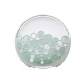 Soporte de jabón de súper succión Baño de la pared de la cocina Caja de jabón de ventilación Accesorio de accesorio de gadget multifuncional para el hogar Estilo simple