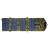7 Watt 5 V USB Port Faltbare Solarpanel Ladegerät Outdoor Tragbare Ladegerät für iPhone Handy