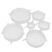 INSTA LIDS 6 PCS Cocina Silicona Estiramiento Pot Pot Tapón de cocina Tapa