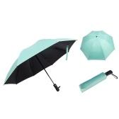 Черное покрытие автоматический складной зонт
