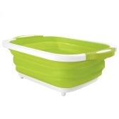 2 In 1 Collapsible Dish Washing Bowl Chopping Board