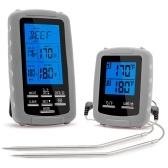 ワイヤレス肉温度計食品バーベキュー温度計
