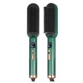 Ionic Straightener Brush PTC Heated Hair Straightener