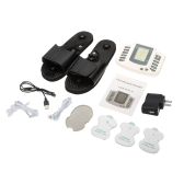 100-240V Multi-Function-Electronic-Pulse-Massager-Therapy-With-Therapy-Slipper-Pads US