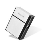 Creativo USB ricaricabile elettronico Hit Fire Machine antivento senza fiamma staccabile accendino accendini con filo riscaldante