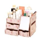Caja de almacenamiento de escritorio multifuncional