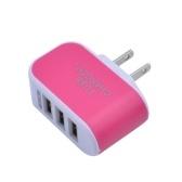 Универсальное зарядное устройство USB на 3 порта