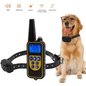 Dog Anti Bark Collar Adjustable Rechargeable and Waterproof Collar Beep Vibration Shock Training Collar for Small Medium Large Dogs
