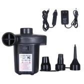Electric Air Pump Quick-Fill Portable Inflator Inflation Deflation Pump