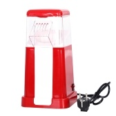 Electric Hot Air Popcorn Popper With Top Cover Electric Popcorn Maker Machine Healthy Delicious Snack For Family Gathering Easy To Clean Safe