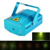 Mini LED Proyector láser Rojo y verde Etapa Efecto de iluminación Patrones con trípode