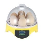 7 Oeufs Egg Mini Digital Incubator Hatcher Transparent oeufs d