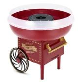 Homgeek Mini Retro Automatic Cotton Candy Machine Household DIY Fancy Cotton Candy Maker Sugar Floss Machine For Kids
