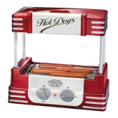 Nostalgie Old Fashioned Haushalt Hot Dog Roller Grill Hotdog Maker Hot-Dog Barbecue BBQ Maschine Wurst Grill 5 Rollen 220-240V