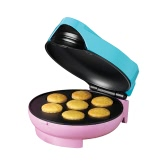 Nostalgia 50s Retro Style Household Electric Mini Cupcake Maker Machine Gift Set Food Kitchen Baking Tool Cup Cake Machine 220-240V