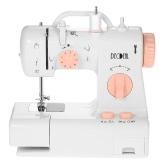 Decdeal máquina de coser eléctrica multifuncional de la casa 2 ajustes de la velocidad con el pedal de pie ligero AC100-240V