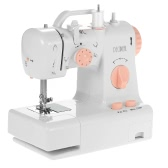 Decdeal Multifunctional Electric Household Sewing Machine 2 Speed Adjustment with Light Foot Pedal AC100-240V