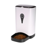 APP Automatyczny karmnik dla zwierząt Inteligentny dozownik dla kotów / psów Automatyczny dozownik żywności 5L Przechowywanie z dyktafonem Kompatybilny z IOS / Android