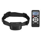 No Shock Dog Training Collar Vibra/Beep/Light Auto Anti Bark Collar 7 Intensity Level Waterproof Rechargeable 800yd Remote for Small Medium Large Dogs