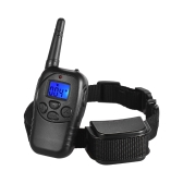 328yd Remote Dog Training Collar Shock/Vibra/Beep/Lamp Anti Bark Collar Rainproof Rechargeable for Small Medium Large Dogs