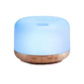 500 мл Ультразвуковой Увлажнитель воздуха Эфирное масло Диффузорная лампа Ароматерапия Aroma Diffuser Mist Maker