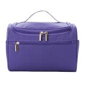 Простая вешалка для путешествий Макияж для хранения Туалетная сумка Твердая большая емкость Косметика Упаковка Органайзер Сумки для душа Розовый