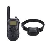 998DC impermeable recargable remoto choque eléctrico Anti-Bark Dog Training Collar