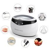 Professional Ultrasonic Glasses Rings Coins Cleaner Cleaning Device
