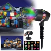 12 wzorów slajdów Olśniewający laser Light Show