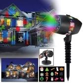 12 Diapositivas de patrones Deslumbrante espectáculo de luces láser