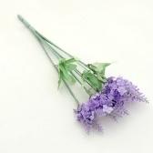 10szt. Sztuczny bukiet kwiatów lawendy jedwabiu