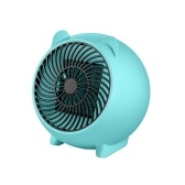 Mini 250W Space Heater Przenośny Winter Warmer Fan Personal Electric Heater