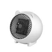 Mini 250W Space Heater Portable Winter Warmer Fan Personal Electric Heater