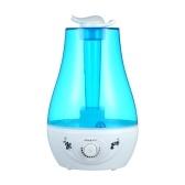 Umidificador Cool Mist Tanque de água com luz colorida de 3L com capacidade