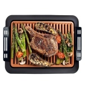 Barbecue Electric Indoor BBQ Smokeless Grill Removable Nonstick Easy To Clean Grill