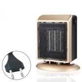 Electric Space Heater Safe Overheat Protection Quiet Personal Mini Space Heater PTC Ceramic Heating Heater with 2 Heat Settings for Office Room Desk Indoor Use