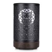Новый стиль Flathead Owl Iron Aromatherapy Machine Бытовая техника 100ML Desktop Aromatherapy Diffuser Hollow Out Humidifier