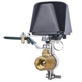 Válvula de agua inteligente WiFi con controlador de válvula de cierre automático de agua con temporizador