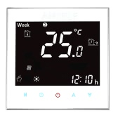 Anself 3A 110 ~ 240V Вода Отопление Термостат с сенсорным экраном ЖК-дисплей 7-дневный программируемый контроллер комнатной температуры Домашнее улучшение продукта