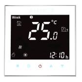 Anself 3A 110 ~ 240V calentamiento de agua Termostato con pantalla táctil LCD de visualización de temperatura 7-Día de habitaciones controlador programable Mejoras Producto