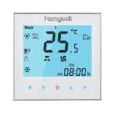 Homgeek 110 ~ 240V Klimaanlage 2-Rohr-Thermostat mit LCD-Display guter Qualität Touch Screen Programmierbare Raumtemperaturregler Home Improvement Produkt