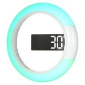 Réveil de température de miroir de mur de Digital LED de 12 pouces