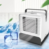 Portable Cooling Fan Negative Ion Air Conditioner with LED Light