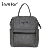 Insular Multifunctional Mommy Bag Excellent Water Resistance Nappy Bag Backpack Durable Shoulders Bag Baby Diaper Bag for Mom Baby Shower Gift