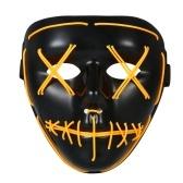 Adultos Halloween LED Light Up Máscara