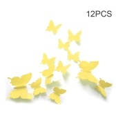 Mural Simulation 3D Butterfly Stereoscopic Hot Fashion Style Curtain Wall Sticker