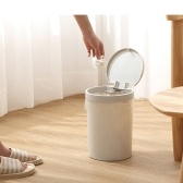 Home Use Fashion Simple Trash Can Kitchen Bedroom Garbage Bin