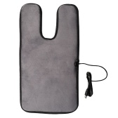 Heating Cushion with USB Cable Electric Heater Pad Waterproof Fast Heating Overheat Auto Shut-Off Healthy Skin Friendly for Children Pets Grey